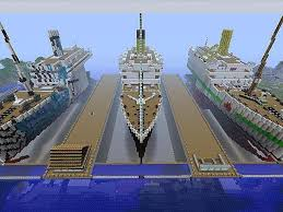 Minecraft Titanic Sinking Download by Xbox 360 Edition Very Detailed 1 1 Scale Hmt Olympic Rms Titanic