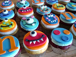 Monster Boys Birthday Cupcake Decorating Ideas