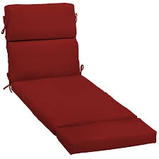 Garden Treasure Patio Furniture by Shop Garden Treasures Red Red Solid Standard Patio Chair Cushion