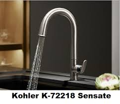 Kohler Touchless Faucet Battery by Compare Touchless Motion Sensing Kitchen Faucets Moen Pfister Or