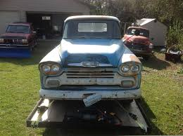 1958 Chevrolet Chevy Apache 3100 Pickup Truck RatRod Project ... 1951 Chevy Truck No Reserve Rat Rod Patina 3100 Hot C10 F100 1957 Chevrolet Series 12 Ton Values Hagerty Valuation Tool Pickup V8 Project 1950 Pickup Youtube 1956 Truck Ratrod Shoptruck 1955 Shortbed Sold 1953 Pick Up Seven82motors Big Block Hooked On A Feeling 1952 Truck Stored Original The Hamb 1948 Project 1949 Installing Modern Suspension In An Early Classic Cars For Sale Michigan Muscle Old