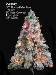 75 Flocked Christmas Tree by Prelit Flocked Artificial Christmas Trees