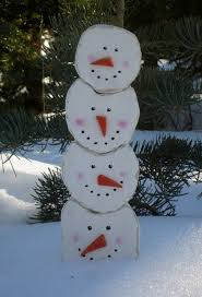 Pinspired Stacking Snowmen Scroll Saw Winter Projects
