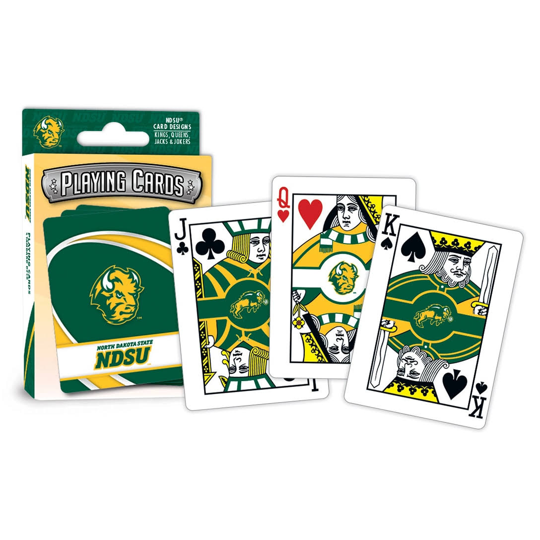Masterpieces North Dakota State Playing Cards