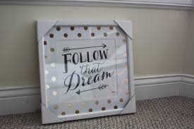 One I Love Polka Dots Two Gold Three Inspirational Quotes So Of Course This Beauty Had To Come Home With Me Ill Leave Links Where