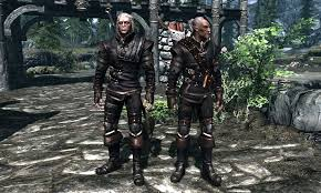of Skyrim Witcher 3 Geralt SC