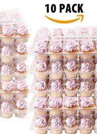 10 Pack FillnGo Carrier Holds 24 Standard Cupcakes