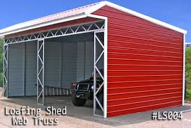 Loafing Shed Kits Texas by Metal Loafing Sheds For Horses For Sale