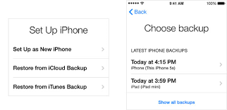 How to back up your data and move it to your new iPhone 6 or