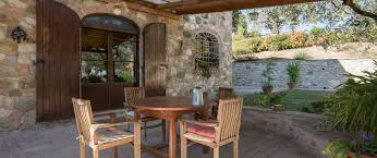 With Wonderful Views Over The Town Of Montepulciano Characterful Restored 4 Bedroom Farmhouse A Garden And Olive Walnut Grove