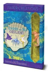 Paper Creations Under The Sea Origami Book Gift Set Easy Papercraft