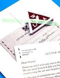 Letter Writers Alliance Letter Writers Alliance Instagram