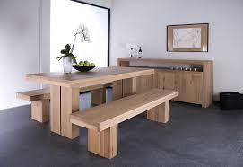 salle à manger contemporaine chêne massif ethnicraft