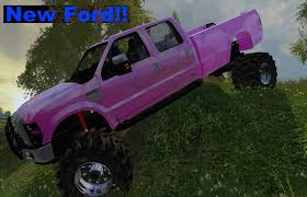Farming Simulator 2015 Lifted Ford Truck - YouTube