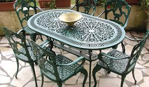 mobilier de jardin en fer forgé bonne mine et entretien facile