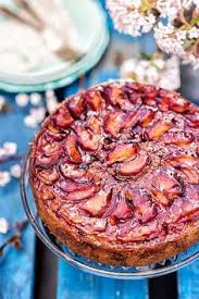 Simple Pleasures Spiced Plum Upside Down Cake