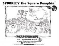 Spookley The Square Pumpkin Writing Activities by Halloween Printable Spookley The Square Pumpkin Coloring Sheet