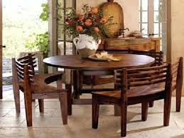 Dining Table Bench With Back Plans Sets Benches Wooden Round Curves Unique