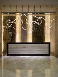 Wyndham Istanbul Petek Hotel Turkey Designed By Metex Design Group And Pyramid Architect Modern Reception DeskReception
