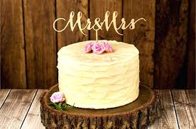 Wooden Wedding Cake Toppers Rustic Topper Wood Ring Personalized Retro Country Custom A