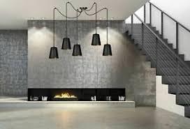 details zu hängele schwarz gold verstellbar 5 flmg wohnzimmer esstisch pendelleuchte