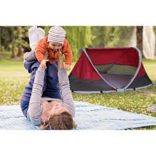Peapod Plus Baby Travel Bed by Kidco Peapod Plus Portable Travel Bed Cranberry Walmart Com