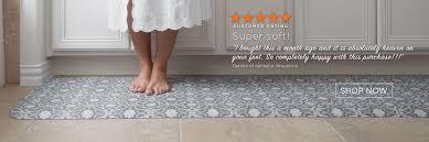 Bathroom Rug Runner 24x60 by Kitchen Floor Mats For Comfort The Ultimate Anti Fatigue Floor