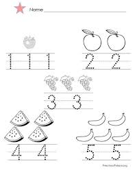 Collection Of Solutions Coloring Pages Numbers 1 5 For Your Reference