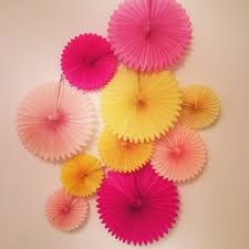 35Cm Chinese Tissue Paper Fan Diy Crafts Wedding Decorations With Decoupage