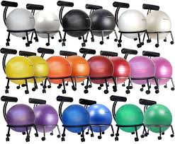 Physio Ball Chair Base by Yoga Ball Chairs Balance Ball For Stability Guide U0026 Review