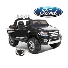100 Ford Ranger Trucks Pickup Truck Black 12v Kids RideOn Car Remote Kids