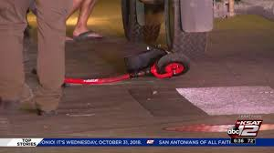 Tourist On Electric Scooter Injured After Being Hit By Truck