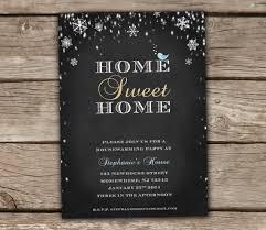 Winter Housewarming Party Invitation