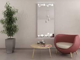 led wandspiegel wohnzimmer emily