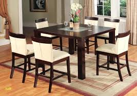High Dining Table With Bench Small Kitchen 4 Chairs Finest Counter Height Set New Room Bar