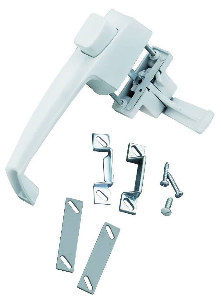 Wright Products Push Button Latch - White