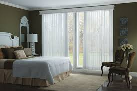 Sliding Door With Blinds by Vertical Blinds Drapery Connection