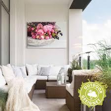 artland wandbild stillleben mit blüten und beeren blumen 1 st in vielen größen produktarten alubild outdoorbild für den außenbereich