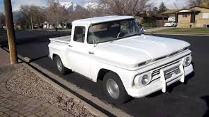 100 Stepside Trucks 1962 Chevy C10 Pickup Truck YouTube