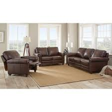 Alessia Leather Sofa Living Room by Brown Leather Sofa Beds Incredible Home Design