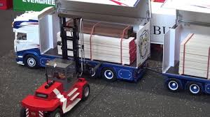 RC Scania R730 FMT Logistik With Trailer That Can Be Opened ...
