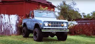 Classic Ford Broncos' Coyote Restomod Is The Ultimate Vintage Bronco ...