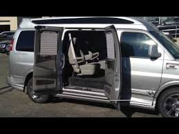2015 Leftover GMC Savana Explorer Conversion Van 9 Passenger