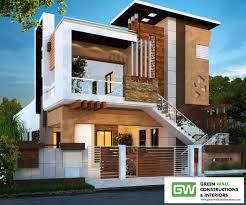 100 House Architectures Wall And Interiors Builders Road