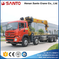 100 Truck Mounted Crane 20 Ton Hydraulic Knuckle Boom For