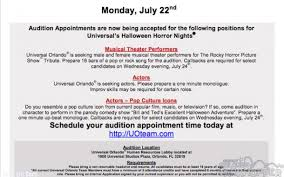 Halloween Horror Nights Auditions 2016 by Universal Orlando Halloween Horror Nights News And Construction