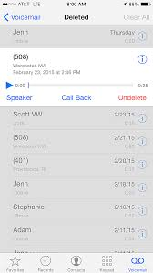 How to Undelete Voicemails on the iPhone