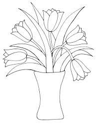 Tulipe 40 Nature Coloriages à Imprimer