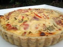 recette de tarte salée à la ricotta et jambon sec d auvergne sur