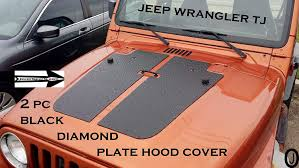 Amazon.com: JEEP WRANGLER TJ 2pc BLACK DIAMOND PLATE HOOD COVER ... Custom Truck Beds Trailers Armstrong Fabricaton 1997 Ford F250 Powerstroke Tonneau And Bed Caps By Partywave On Covers Diamond Bed 90 Plate Photo Gallery 14c Chevy Silverado Gmc Sierra Trucks Kw Tool Boxes Unique 5th Caps Automotive Box Work Tcusa Tonneau Cover Closed Retractable Ladder Rack Hard Pickup A F150 With Pulls Boat Trailer Flickr The Ultimate Locks Trunk Low Profile Alumbody Life As An Artists Wife Cowboy Bought A